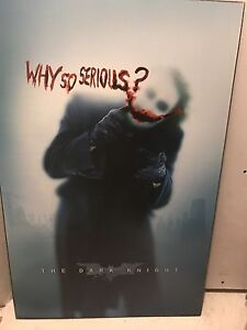 Batman poster: why so serious