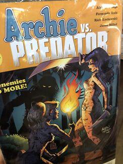 Archie vs Predator 1-4 comics