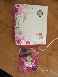 Barbie Educational Laptop - as new