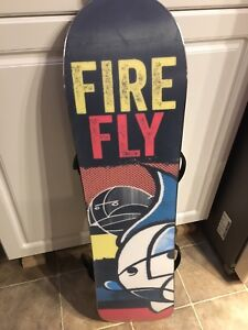 Kids Fire fly snow board