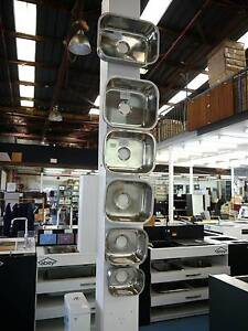 New PCH Stainless Steel Undermount Bar Sinks. Various Sizes Melbourne CBD Melbourne City Preview