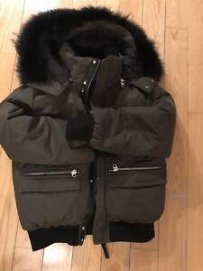 Men Mackage coat size 42 good condition