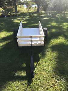 Well built atv/ yard trailer