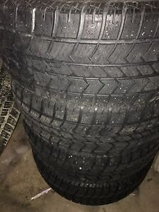 Used 275 60 20 snow tires