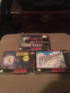 SNES Super Nintendo games boxes only
