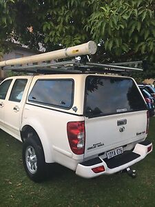 Roof rack and roof tray with conduit or pvc carrier Melville Melville Area Preview