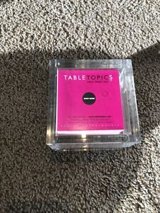 Table Topics Game