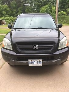 Honda Pilot all wheel drive