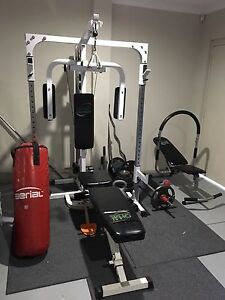 Home Gym with heaps of extra weight Canning Vale Canning Area Preview