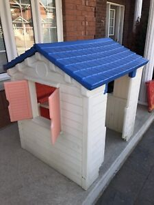 Free little tikes outdoor house