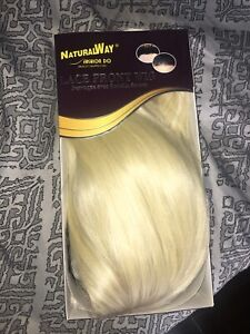 Lace front Blonde Wig and Wig Cap