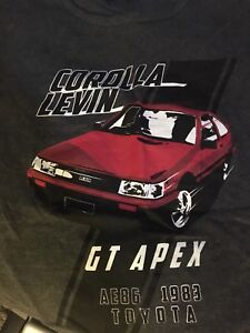 AE86 Levin shirt from Japan