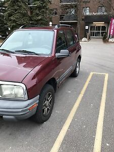 Chevy Tracker 4x4 $550