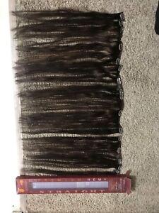"""Hair extensions (18"""" clip-ins, human hair)"""