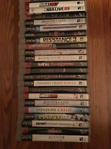 Video games $10 each or 3 for $20. PS3, Xbox, GameCube + more