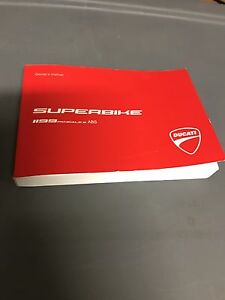 Ducati Panigale 1199S  2014 Owner's Manual