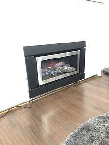 Illusion Lumina 1000 I gas log fire heater Melbourne CBD Melbourne City Preview