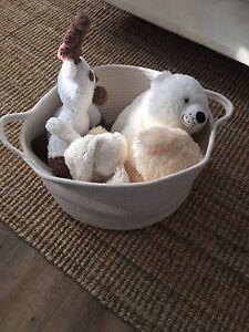 Off-White Storage Baskets