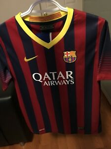 FC Barcelona 2013/2014 Messi Nike Youth XL Jersey