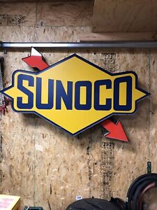 Collector Led Sunoco Sign