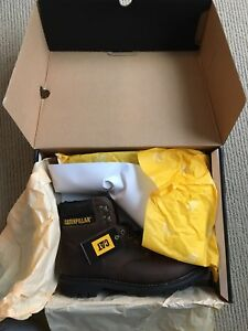 Caterpillar work boots steel toe