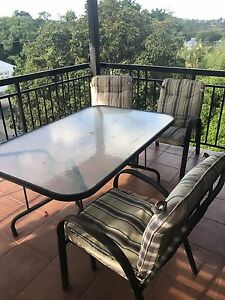 Glass outdoor table Nundah Brisbane North East Preview
