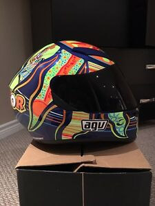 AGV 5 Continents Valentino Rossi Helmet *LIKE NEW!!*