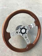 Wood grain steering wheel with boss kit  Redbank Plains Ipswich City Preview