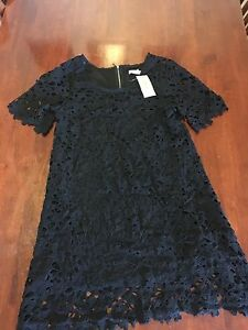 Women's Black Crotchet/ Lace Dress Size Medium- New with tags Blackburn South Whitehorse Area Preview