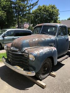 1951 Chevy 1434 3/4 running project