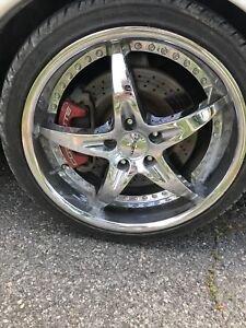 19/20 inch rims 5x120.65 with tires