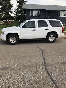 2011 CHEVY TAHOE 2 WHEEL DRIVE EX RCMP UNIT IN EXC CONDITION