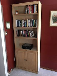 Solid Wooden Bookshelf/cabinet