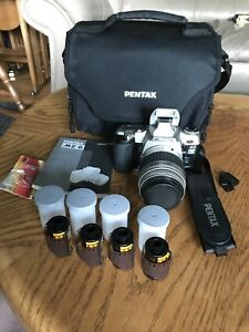 PENTAX MZ-6 28-90mm Japan Made film SLR Camera films manual bag
