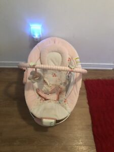 Bright stars baby bouncer with nice music. AVAILABLE