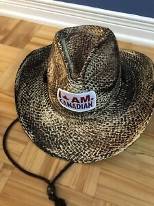 Chapeau paille cow-boy neuf Molson Canadian neuf