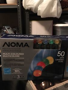 Noma Multi-Coloured Christmas Lights