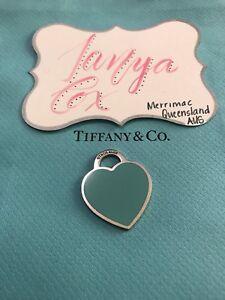 Tiffany & Co XL Enamel RTT Heart Merrimac Gold Coast City Preview