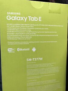 Brand New sealed Samsung Galaxy Tab E