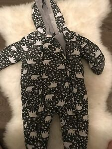 6-12 month unisex snow suit