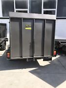 BRAND NEW 9x5 ONE TON BOX TRAILER WITH CAGE FULL RAMP AUSSI BUILT Rocklea Brisbane South West Preview