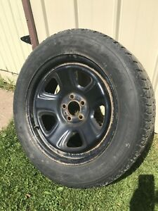 4 18 inch rims with 4 winter tires
