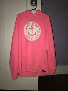 East coast lifestyle hoodie size L youth