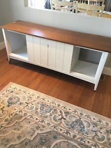 Converted vintage stereo cabinet