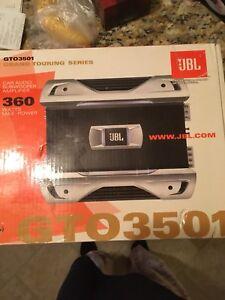 Mono JBL Grand Touring Series Car Audio Subwoofer Amplifier
