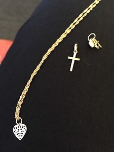 Delicate 10K Gold Jewelry