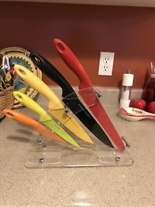 STOKES colorful knife set