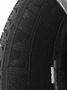 Michelin Winter Tires of 4 package with rims