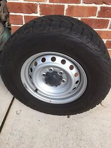 4 x Bridgestone Dueller Light truck tyres and wheels Barden Ridge Sutherland Area Preview
