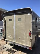 Off-road camper trailer. Army style. Registered as trailer. Treg  Ascot Park Marion Area Preview